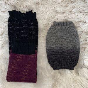 boot cuffs/leg warmers